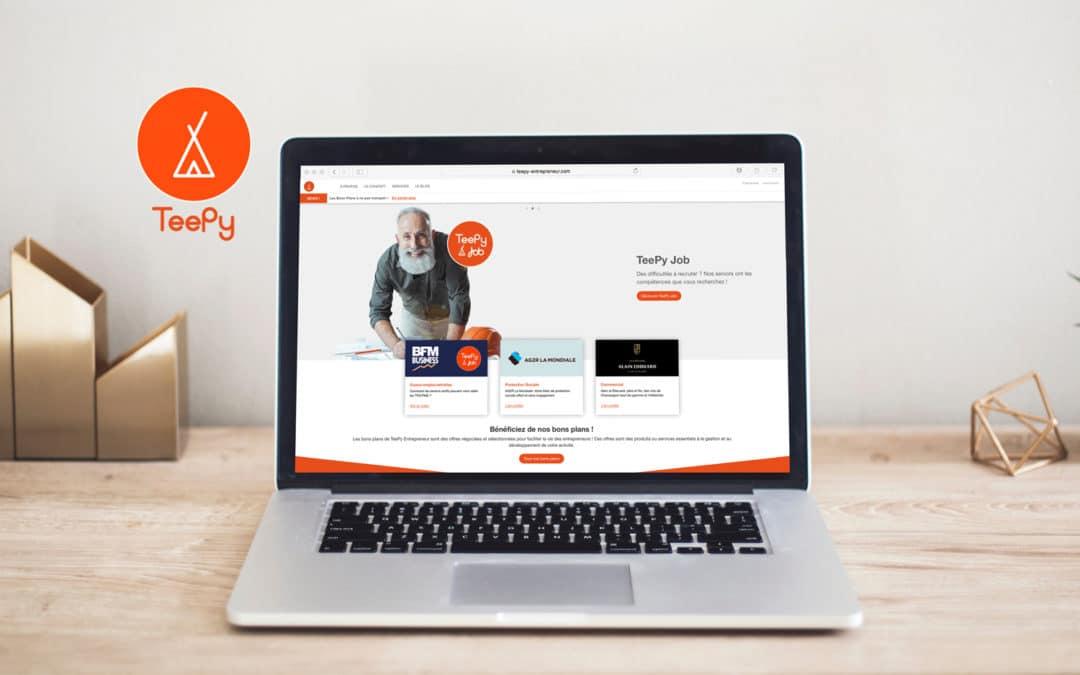 Levée de fonds réussie pour TeePy avec Comitis Partner