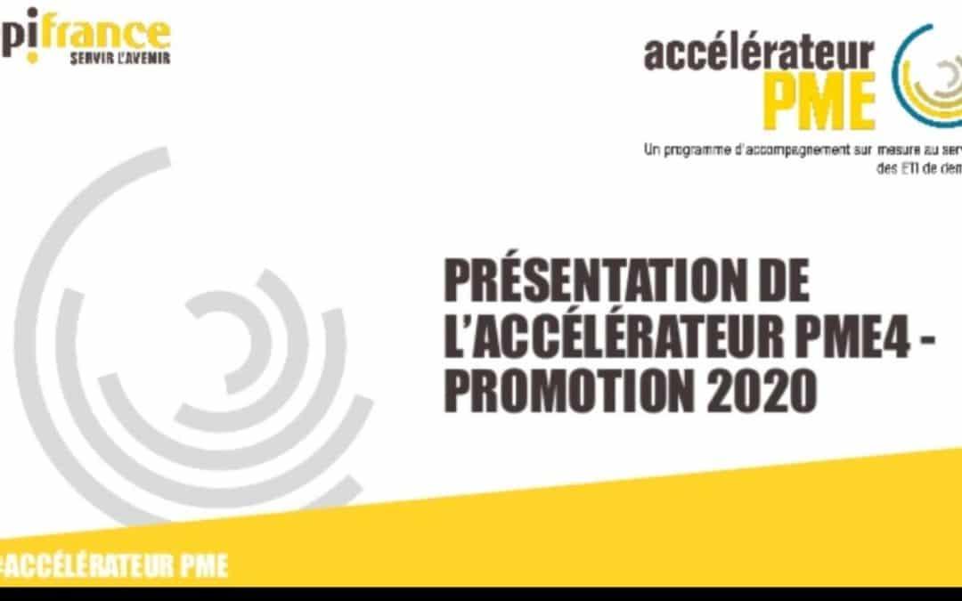 Accélérateur PME : Découvrez la promotion 2020 de BPI France